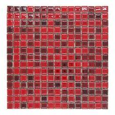 CERAMICA DI TREVISO mosaico da rivestimento 2x2 miscela ROSSO MIX (fogli 30x30)