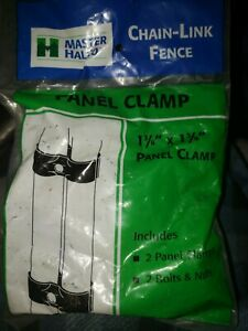 """Master ~ Halco Chain Link Fence, 087053 Panel Clamps, 1-3/8"""" x 1-3/8"""""""