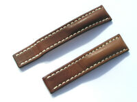 20mm Breitling Band 432X 20/18 Kalb braun brown Strap für Faltschliesse 049-20