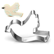 Pigeon Dove Bird Stainless Steel Biscuit Cookie Cutter Cake Decor Mold Tool NEW
