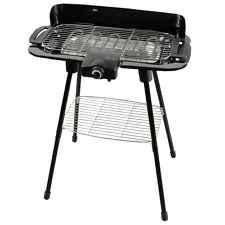 Grill Electric 2000W BBQ Garden High Quality Chrome Steel Enamel Lightweight UK