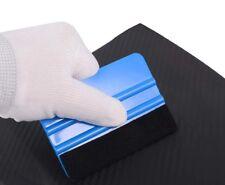 PRO SQUEEGEE FELT Edge Vinyl Applicator Tool Sign Decal Car Wrap Large Blue