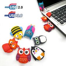 Cute Animals 32GB 16GB USB Flash Drive Memory Thumb Card Pen Drive Data U Disk