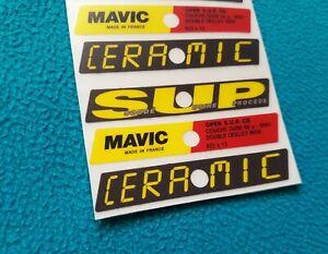 MAVIC OPEN S.U.P. CERAMIC REPLACEMENT DECAL SET FOR 2 RIMS