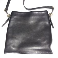 Vintage Coach Handbag Slim Equestrian Bag Black No L7C-9806 Medium size