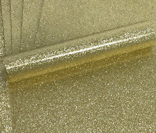10 A4 GOLD NON SHED SOFT TOUCH GLITTER PAPER, WHITE BACKED APPROX  150GSM