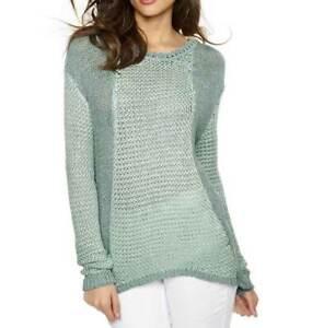 A-044# NEU! Pullover, mint-gemustert, Gr. 40/42, Heine - Best Connections