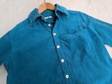 Issey Miyake IS Sports Japan Tsumori Chisato blue corduroy shirt medium