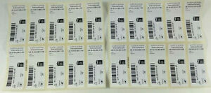 Pack 20 Stamps, Mint N/H Letter Tracked International Without All Stamps
