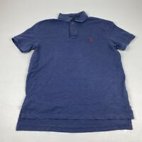 Polo Ralph Lauren Men's Stretch Mesh Polo Shirt Blue Size Large  Pre owned