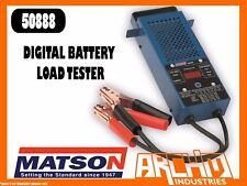 MATSON 50888 DIGITAL BATTERY LOAD TESTER - 100 AMP 12V VOLTAGE