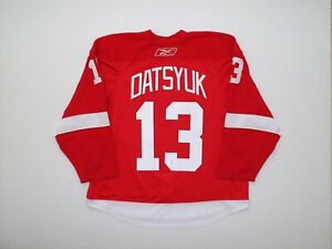 Authentic Detroit Red Wings Datsyuk 58 RBK EDGE 2.0 Jersey Pro NHL Team Issued