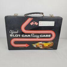 Official Slot Car Racing Black Vinyl Case Standard Plastic Products