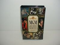 MGM Greatest Moments - A Video Sampler (VHS, 1988)
