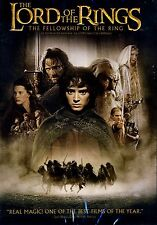 NEW DVD // The Lord Of The Rings : The Fellowship Of The Ring // Elijah Wood, Ia