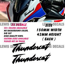 Yamaha Thundercat Stickers Decals Motorcycle Fairing Panel Belly Pan