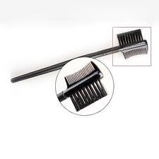 Cosmetic 2in1 Eye Brow Brush Dual End Eyelash Comb Makeup Tool