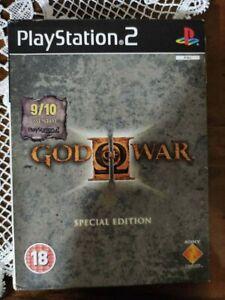 God of War II Special Edition (PlayStation 2, 2007) CIB PAL PS2! RARE! EUROPEAN