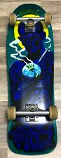 Santa Cruz Jeff Kendall Atomic Man Blue Complete Skateboard Pre Owned Reissue