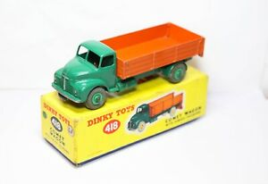 Dinky 418 Leyland Comet Lorry In Its Original Box - Excellent Vintage Original