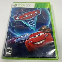 Cars 2: The Video Game (Microsoft Xbox 360, 2011) Complete CIB Tested