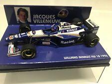 Minichamps Jacques Villeneuve 1996 #6 Williams FW18 GP 1:43 MIB •