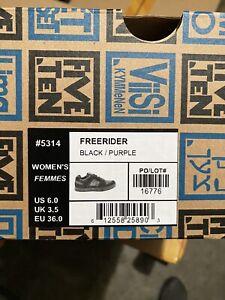 Five Ten Freerider Women's MTB Shoe Black/Purple Size 6