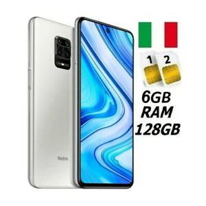 XIAOMI REDMI NOTE 9 PRO DUAL SIM 128GB 6GB RAM WHITE GARANZIA ITALIA NO BRAND