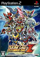 Used PS2 Super Robot Taisen Z   Japan Import (Free Shipping)