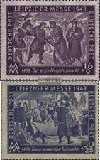 Sowjetische Zone (All.Bes.) 198-199 (kompl.Ausg.) postfrisch 1948 Leipziger Mess