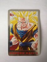 SUPER RARE CARTE DBZ 1989 SANGOKU 3 N°99 Dragon Ball Z série 2 card game