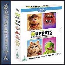 THE MUPPETS BUMPER 6 MOVIE BOXSET ***BRAND NEW BLU-RAY  **