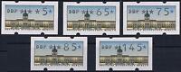 Berlin ATM VS2, Automatenmarken VS2  komplett ** je mit Nummer #b035a