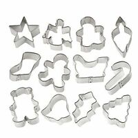 Wilton Holiday Mini Cookie Cutter set of 12, 2308-1250