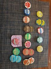 21 Vintage 1939 to 1975 fishing licenses. Various years