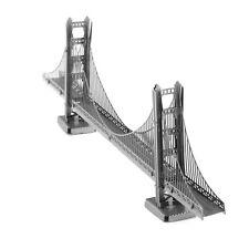 Fascinations Metal Earth 3D Laser Cut Steel Puzzle Model Kit Golden Gate Bridge