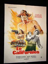 LE CALIFORNIEN  ! charles bronson  affiche cinema  1964