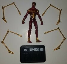 "Marvel Universe Series 2 #021 IRON SPIDER-MAN Loose 3.75"" Figure Hasbro 2010"