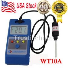 WT10A LCD Tesla Meter Gaussmeter Surface Magnetic Field Tester US fast ship!
