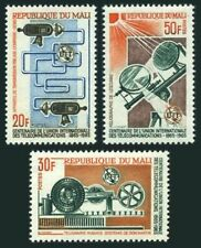 Mali 74-76,MNH.Michel 105-107. ITU Centenary,1965.Communication equipment.