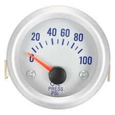 "2"" 52mm Electrical Digital Pointer Car Oil Pressure Press Meter Gauge 0-100PSI"