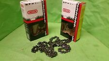 "(2) Loops 18"" Bar Oregon Chain 21LPX072G .058"" Gauge .325"" Pitch Chainsaw Parts"