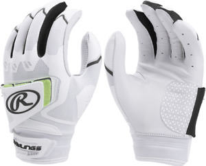 1 Pair Rawlings FPWPBG Workhorse Fastpitch Batting Gloves Various Colors / Sizes