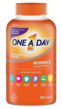 Women's One A Day Multivitamin 300 Tablets Adult Multi Vitamin Health Beauty