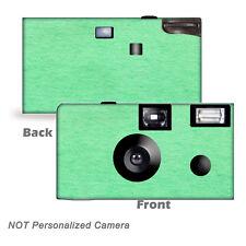 5 Sea Foam Disposable Cameras Fun Cameras, Fuji film