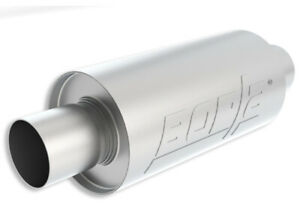 Borla 40842S Specialty Universal S-type 2.5in Inlet/Outlet Stainless Muffler