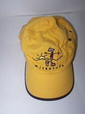 MINNESOTA ball cap sun hat  *OURAY* embroidered Hiker and Sun Yelllow adjustable
