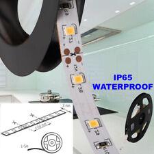 8mm LED Strip Tape Rope Warm White 12V DC IP65 Waterproof TV PC Kitchen Light