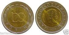 Hungary 100 FORINT 2002 KOSSUTH BIMETALLIC  coin UNC