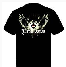Throwdown Men's Wolf T-shirt Black SMALL